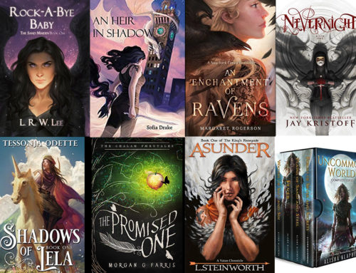 Gorgeous Illustrated Fantasy and Fairy Tale Book Covers for YA and Fantasy Readers Who Love Fan Art